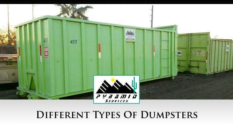 Different Types Of Dumpsters