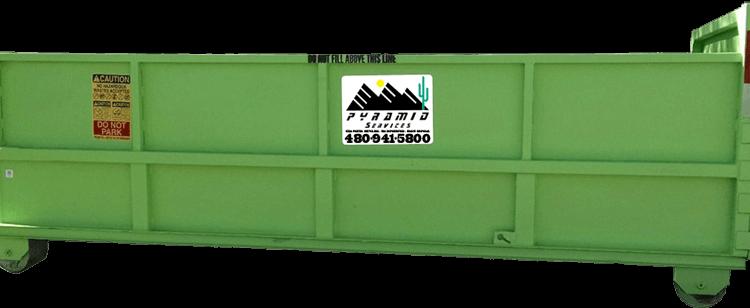 AZ Pyramid Dumpster