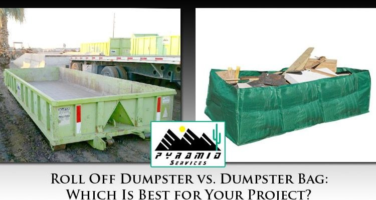 Roll Off Dumpster vs Dumpster Bag Phoenix