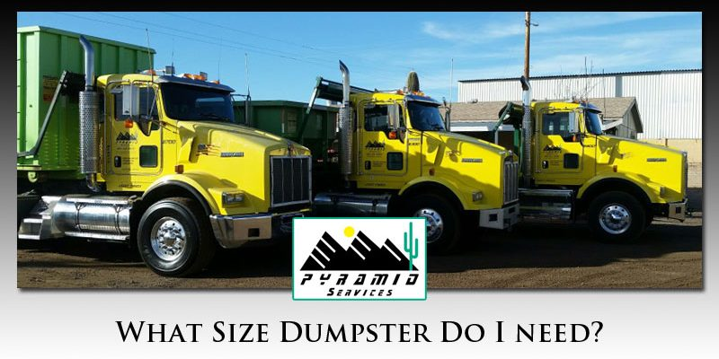 What size dumpster do I need?